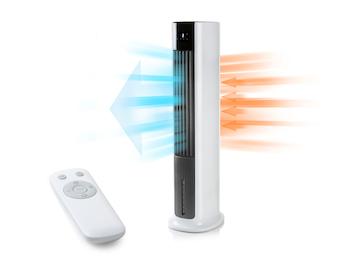 Turmventilator Air Cooler Luftbefeuchter 3 in 1 Gerät oszillierend 10 Std. Timer