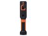 2in1 LED Handlampe & Taschenlampe mit Magnet, Haken & Clip zum Klemmen