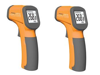 2er Set berührungslose Infrarot Laser Thermometer mit LCD Display - Pyrometer