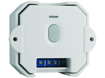 Einbau-Jalousienschalter zur Home Easy Serie, 230V/1000W