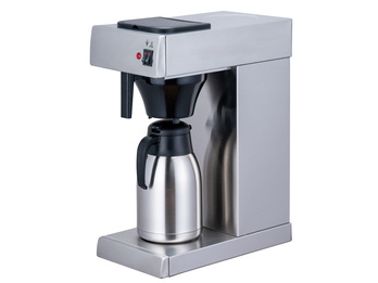 Profi Filterkaffeemaschine mit Thermoskanne 2 L & Warmhalteplatte