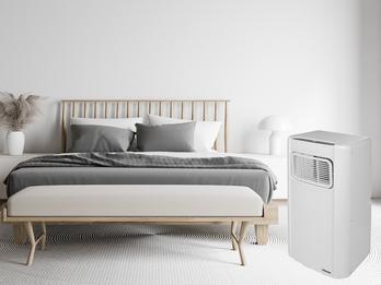 Monoblock Klimagerät mit Timer & Fernbedienung mobile Klimaanlage 65dB