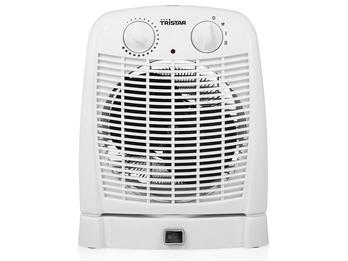 Elektrischer Heizlüfter oszillierend, 2 Heizstufen und Ventilator-Funktion, IP21