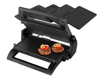 Kontaktgrill, Waffeleisen & Sandwichmaker 4in1 auswechselbare Platten 31,5x21cm
