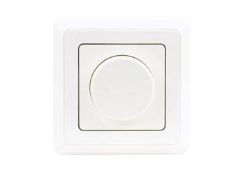 LED Dimmer Uni Komplettgerät Unterputz, Helligkeitsregler innen weiß 5-100Watt