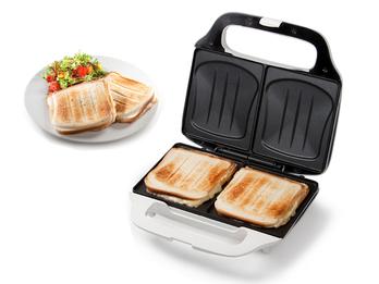 XL Sandwichtoaster Sandwichmaker für 2 große Amerikan Sandwich Toasts 25x15cm