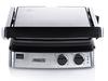 Kontaktgrill & Grillzange 180° abnehmbare Platten 2 Thermostate 2000Watt 29x23cm