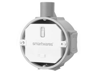 SmartHome Funk-Einbauschalter Empfänger, Einbau in Verteilerdose, max. 1000W