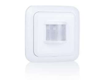 Funk Bewegungsmelder mit Batterie, Präsenzmelder für überall im Haus, 110°x6m