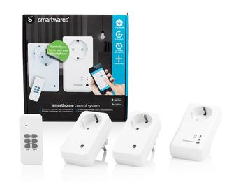 WLAN Steckdosen-Set + 2 Funksteckdosen und Fernbedienung / App Steuerung