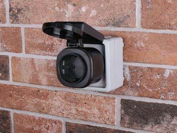 Outdoor Funk Steckdose für Leuchten und Geräte bis 3000Watt