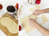 Pizzamaker, Pizzarette rund für 4 Personen Ø30cm mit Teigschneider & Pizzaspatel