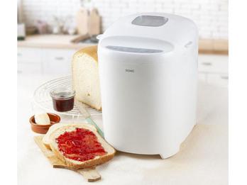 Brotbackautomat mit Ersatz Knethaken - auch glutenfreies Brot