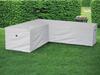 Wetterfeste Schutzhülle Abdeckung für L-förmiges Garten Lounge Set, 250x250x90cm