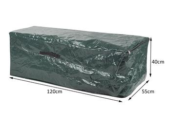 Auflagentasche mit Reißverschluß für Loungekissen, Polsterauflagen 120X55X40 cm