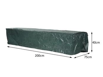 Gartenmöbel Schutzhülle für Sonnenliege, Abdeckhaube Gartenliege 200x75x40cm