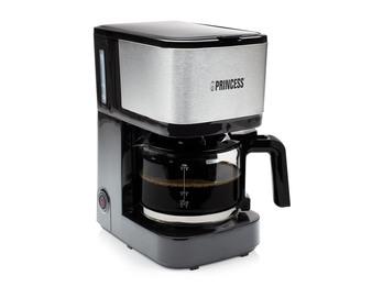 Kaffeemaschine mit Glaskanne für 8 Tassen & Permanentfilter