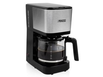 Kaffeemaschine mit Glaskanne für 12 Tassen & Permanentfilter
