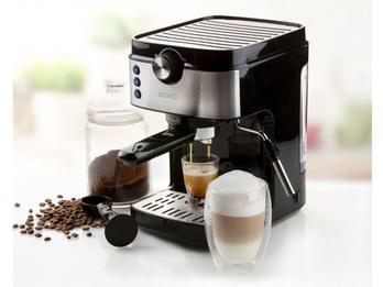 Espressomaschine Siebträger mit Milchschäumer - Kaffeemaschine