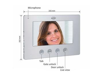 """Zusatz Innenmonitor 7"""" für Video Türsprechanlagen DV477W"""