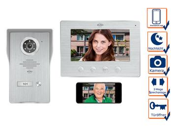 Wifi Türklingel mit Kamera und App - IP Video Türsprechanlage