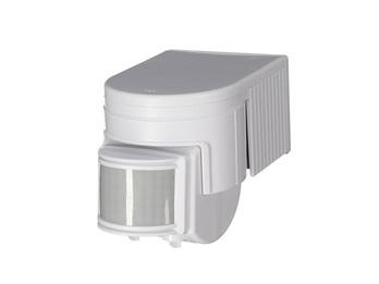 Outdoor Bewegungsmelder in weiß, 12m/180° - Timer, max. 1200 W