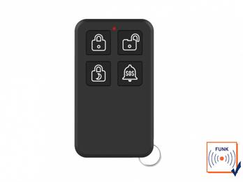 Fernbedienung für ELRO AS90S Home+ Alarmanlage mit App - Handsender