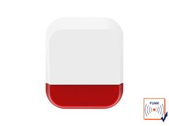 Außensirene für ELRO AS90S Home+ Alarmsystem mit App - Alarmgeber