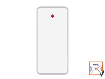 Glasbruchmelder für ELRO AS90S Home+ Alarmanlage mit App