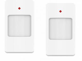 Bewegungsmelder 9m / 110° 2er Set für ELRO AS90S Home+ Alarmanlage mit App