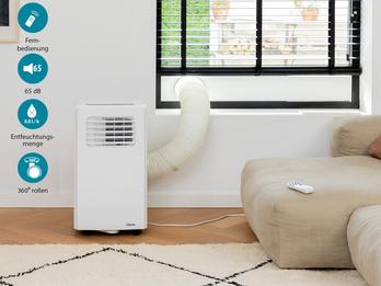 WIFI Klimaanlage App gesteuert Fernbedienung & Timer, 2,1 kW
