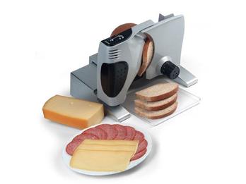 Vollmetall-Allesschneider / Brotschneider für Brot, Fleisch, Käse uvm.