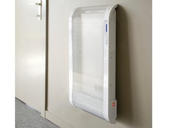 Sparsame Mica-Badwandheizung, 2 Heizstufen, 1500W, Temperaturkontrolle