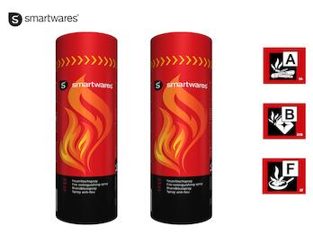 2er-Set Feuerlöschspray für Entstehungsbrände in Haushalt, Auto, Camping
