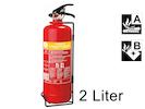 Handlicher Schaumlöscher, 2 Liter, Feuerklassen A, B, Brandbekämpfung