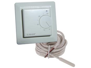 Standard-Thermostat für Heizpaneele, Fußbodenfühler, Regelbereich 5-45°C