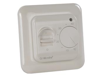 Standard-Thermostat für Heizpaneele, mit Ein-/Ausschalter, Regelbereich 5-40°C