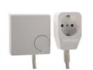 Stecker-Thermostat für Heizpaneele, 1,8m Anschlusskabel, 5-30°C