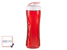Ersatzbehälter / Ersatzflasche für Smoothie-Maker DO434BL, 600ml, rot