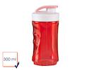 Ersatzbehälter / Ersatzflasche für Smoothie-Maker DO434BL, 300ml, rot