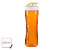 Ersatzbehälter / Ersatzflasche für Smoothie-Maker DO435BL, 600ml, orange