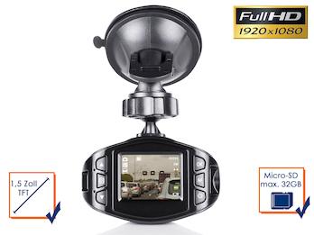 Armaturenbrett Dashcam mit Akku Überwachungskamera fürs / im AUTO Frontkamera