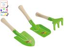 Sandspielzeug 3-teilig / Gartenspielzeug für Kinder -DIE BIENE MAJA-, Farbecht