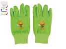 Kinder Gartenhandschuhe -DIE BIENE MAJA-, 7 bis 10 Jahre, Farbe Grün