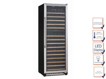 Profi Weinkühlschrank, 150 Flaschen, 2 Temperaturzonen, 5-10° C und 10-18° C