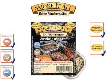 BBQ Räucherspäne Räuchermischung mit Gewürzen - WATTENMEER -