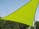 Sonnensegel Dreieck Grün 5m Sonnenschutzsegel für Balkon / Terrassensegel