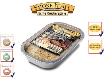 BBQ Räucherspäne Räuchermischung mit Gewürzen - FLUSSAUE -