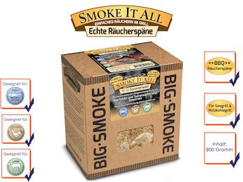 BBQ Räucherspäne Räuchermischung mit Gewürzen 800 gr. - SOMMERWALD -