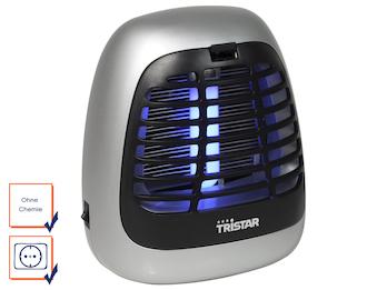 Insektenvernichter mit 7W UV-Lampe für ca. 25 m², ideal fürs Camping